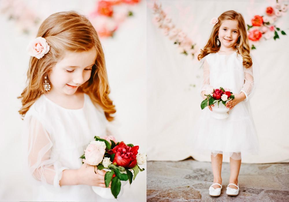 Wedding hairstyles for little girls 6 cute flower girl