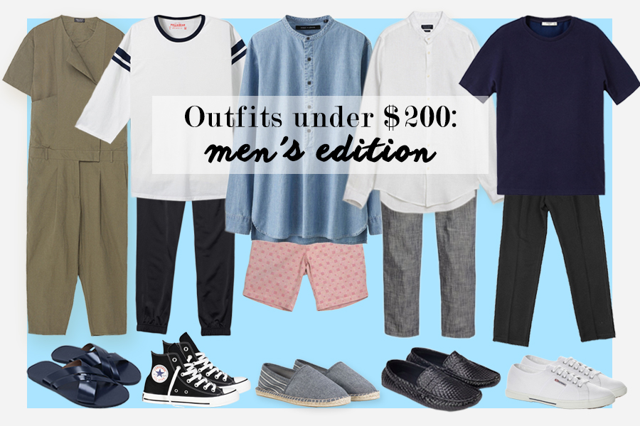 Where to buy cheap clothes in Singapore: Affordable, stylish men's outfits for under $200