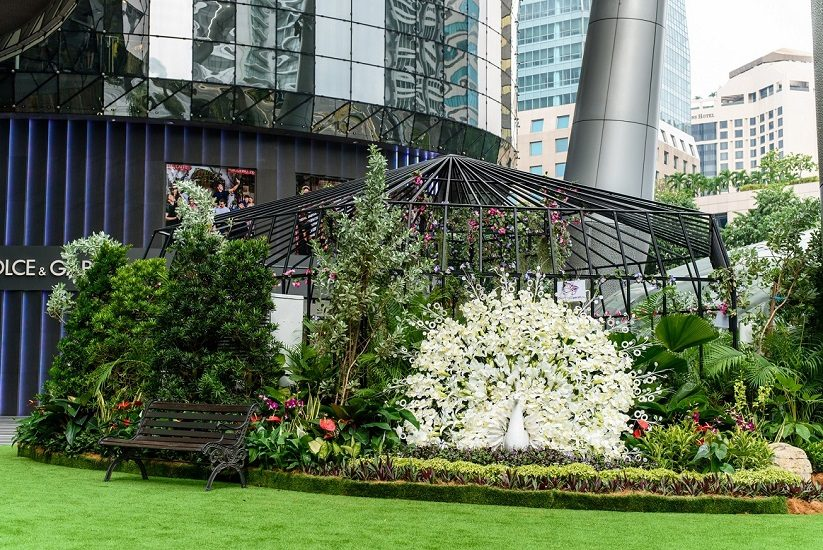 ION Orchard Spring Sound Garden and Flights of Fancy Bird Show ...