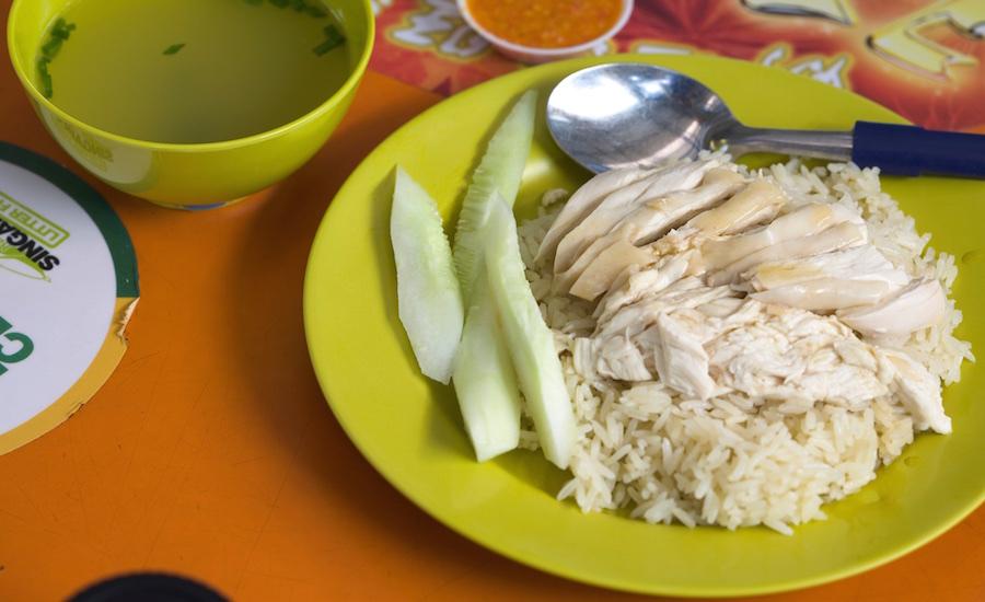 Chicken rice (Photo credit: haynes via Flickr)