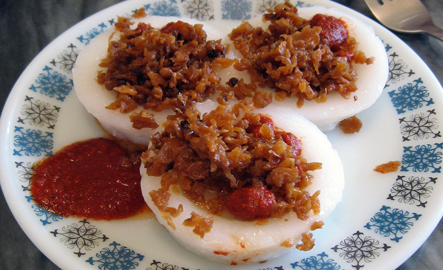 Chwee Kueh (Credit: Ruth Ellison via Flickr)