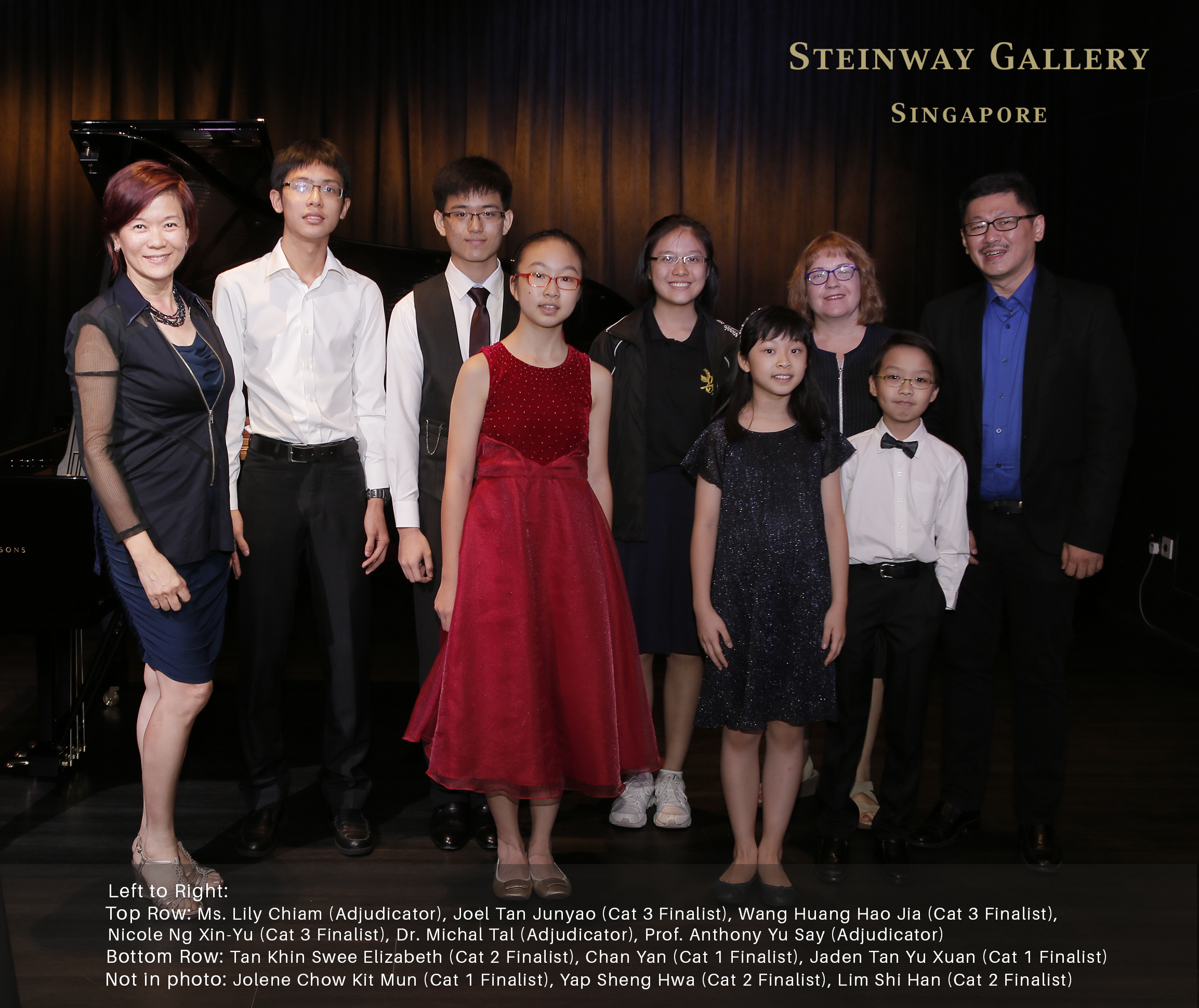 3rd Steinway Youth Piano Competition | Honeycombers Singapore