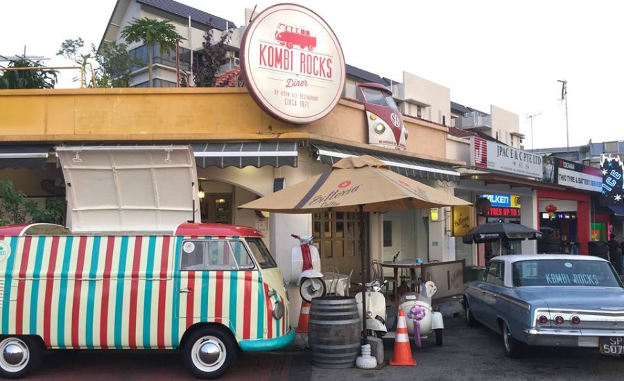Take in the vintage charms at this quaint cafe (Photo credit: Kombi Rocks via Facebook)
