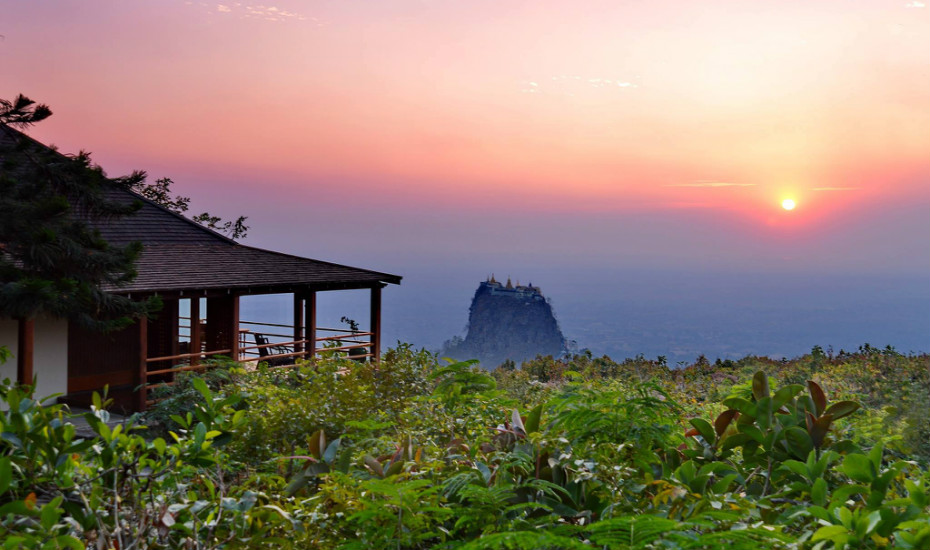 Popa Mountain Resort, Myanmar | Cheap boutique hotels in Southeast Asia