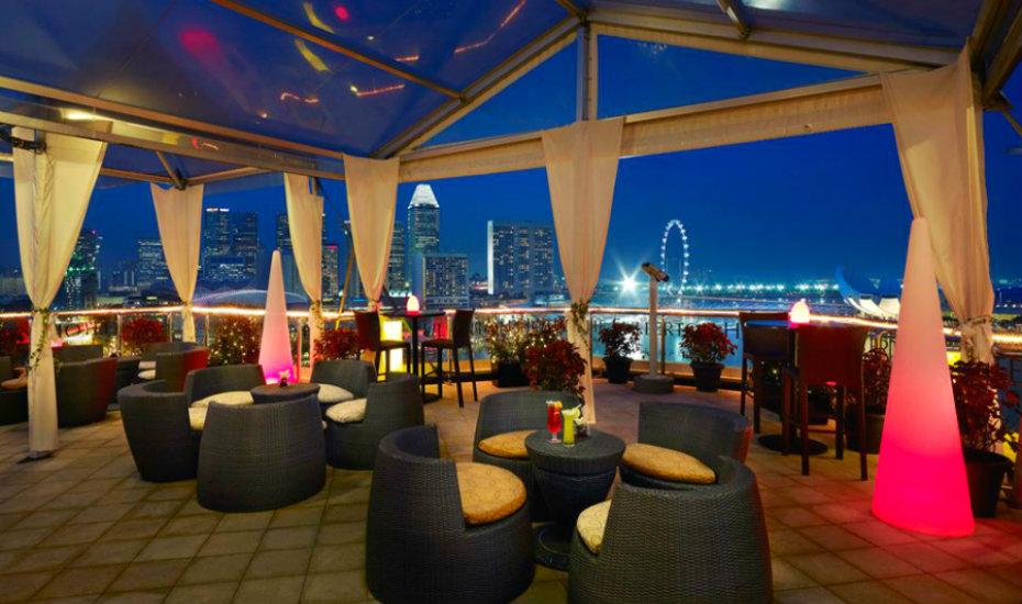 Rooftop Restaurants In Singapore Alfresco And Indoor
