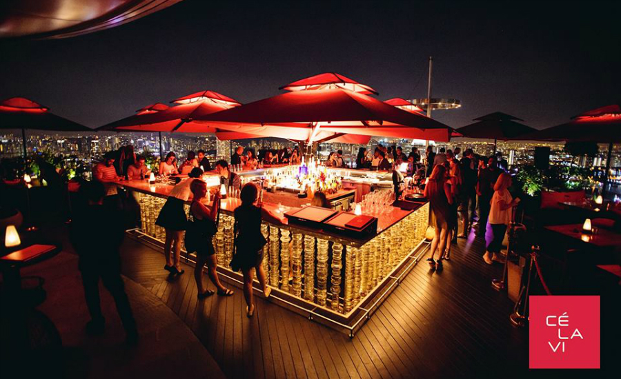Happy Hour Of The Week In Singapore Rooftop Bars With