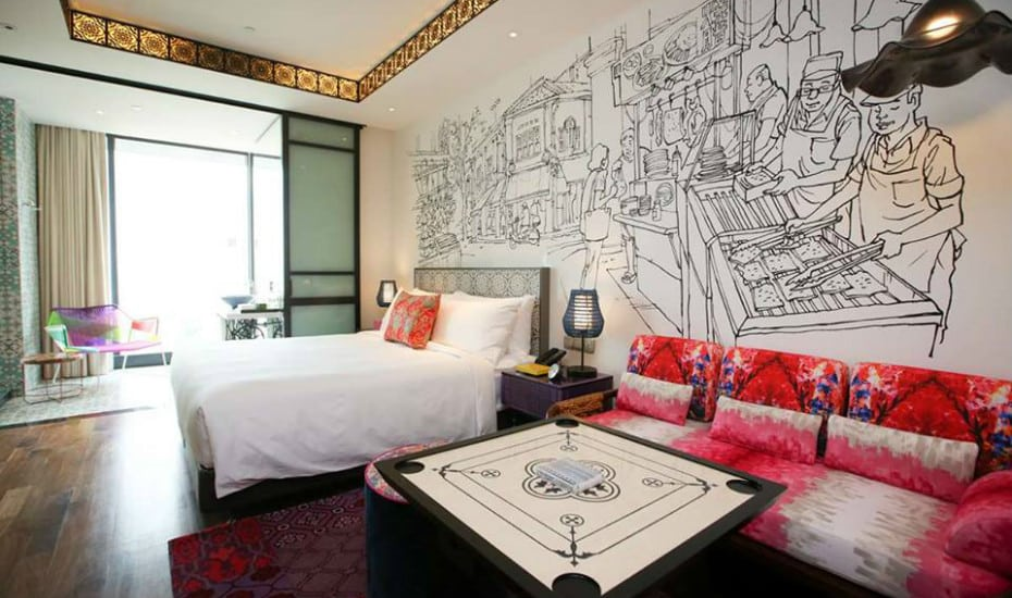 Boutique hotels in Singapore: Hotel Indigo