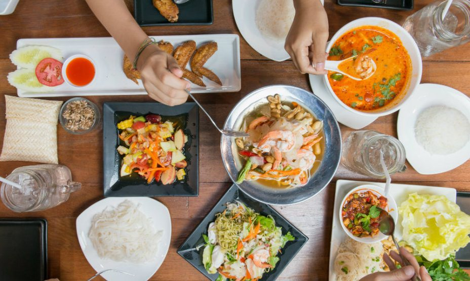 Bali vs Phuket: Thai food