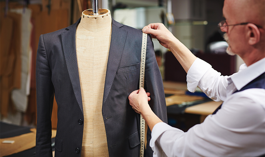 Singapore tailors for custom suits, alterations and bespoke clothes