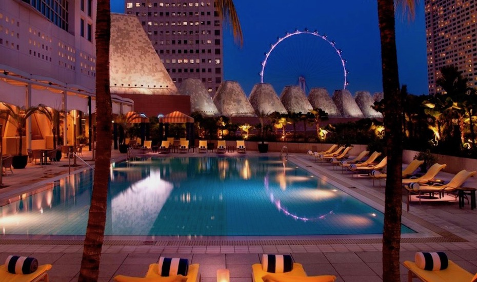 Conrad Centennial | best hotel swimming pools in Singapore