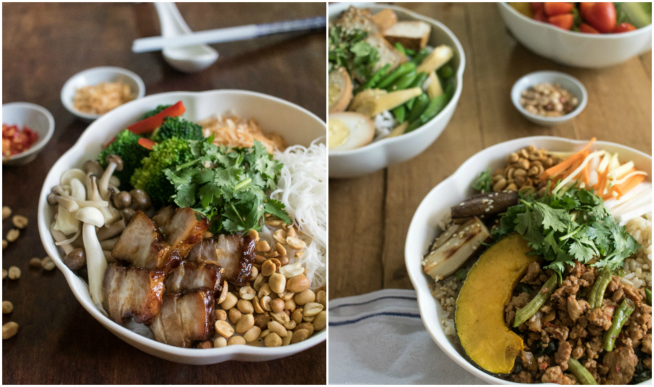 Delicious Do-It-Yourself bowls from Chiak