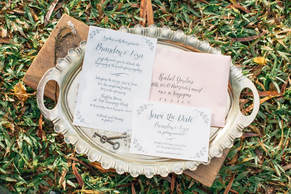 Wedding invitation cards in Singapore: Printers to order stylish custom-made stationery