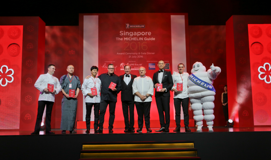 Six other establishments bagged the Michelin two-star award