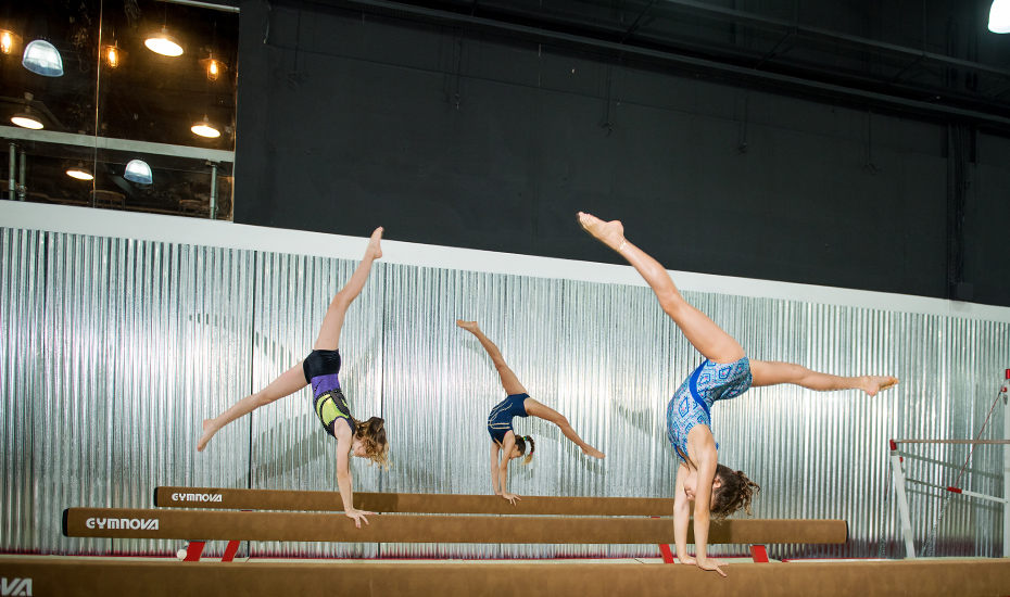Get your acrobatic game on at The Yard!