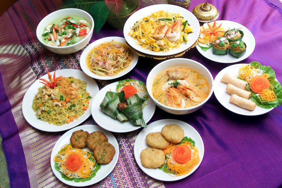 Thai restaurants in Singapore: courtesy of Jai Thai