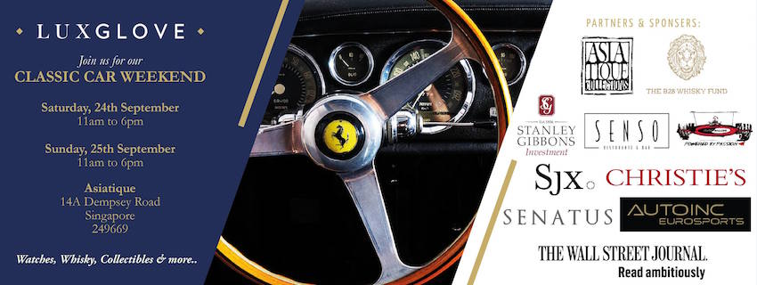 Luxglove Classic Car Weekend Singapore - Car events this weekend
