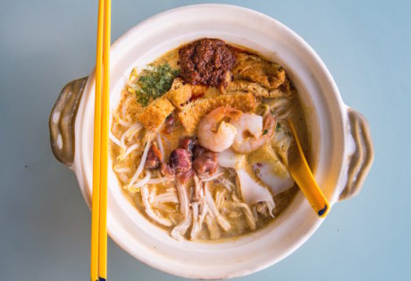 Where to find the best laksa in Singapore