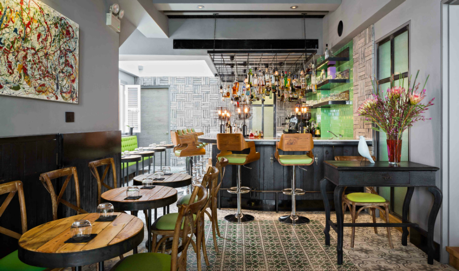 Tippling Club's bar is Schofield's domain