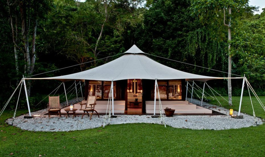 Glamping in Asia: Amanwana Resort