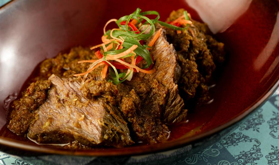 Beef Short Ribs Rendang at Baba Chews