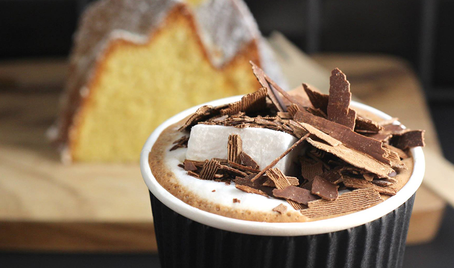 Grab a cup of toothsome hot chocolate that's made with real chocolate and home-made marshmallows at Butterknife Folk (Credit: Butterknife Folk FB page)