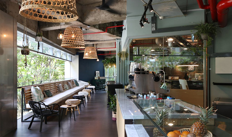 The stylish yet cosy interior of Grounded (Credit: Grounded by CMCR)
