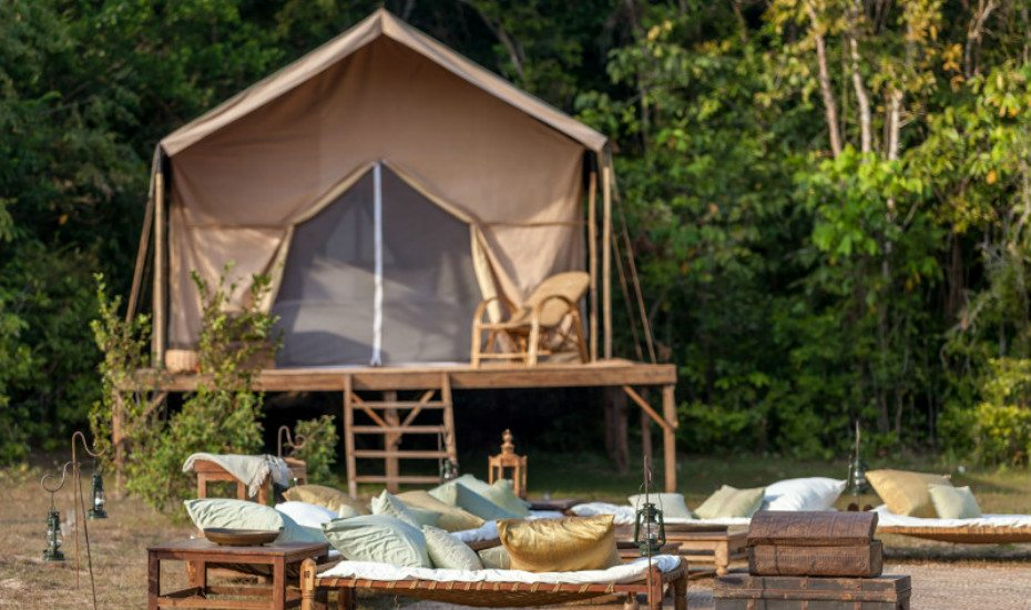Glamping in Asia: Heritage Suites Hotel