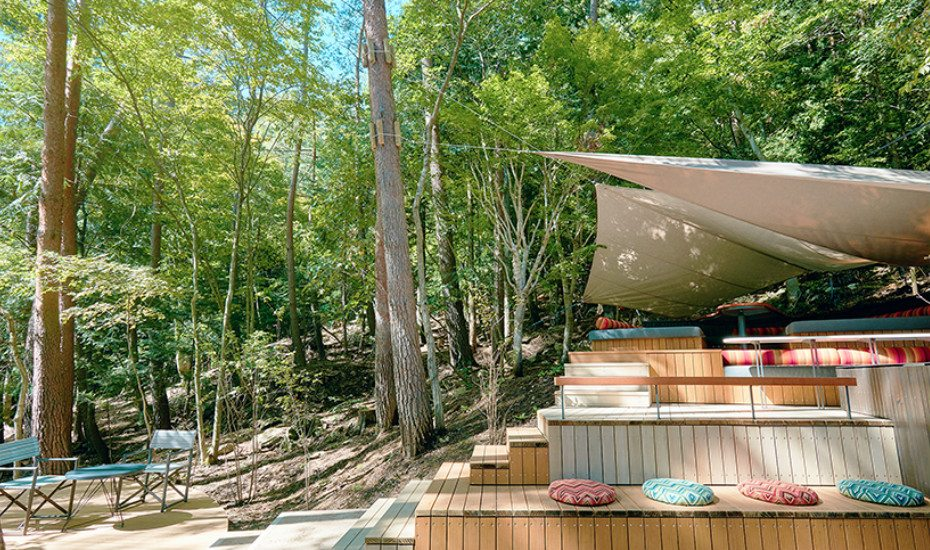 Glamping in Asia: Hoshinoya