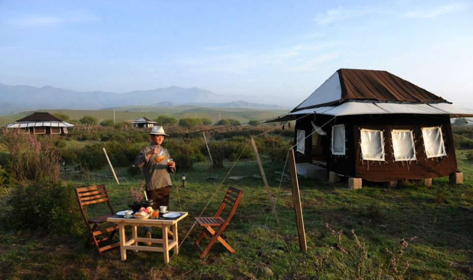 Glamping in Asia: Norden Camp