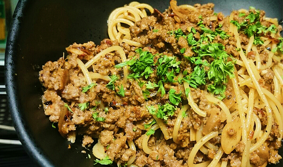 Beef Rendang Bolognese at Krave