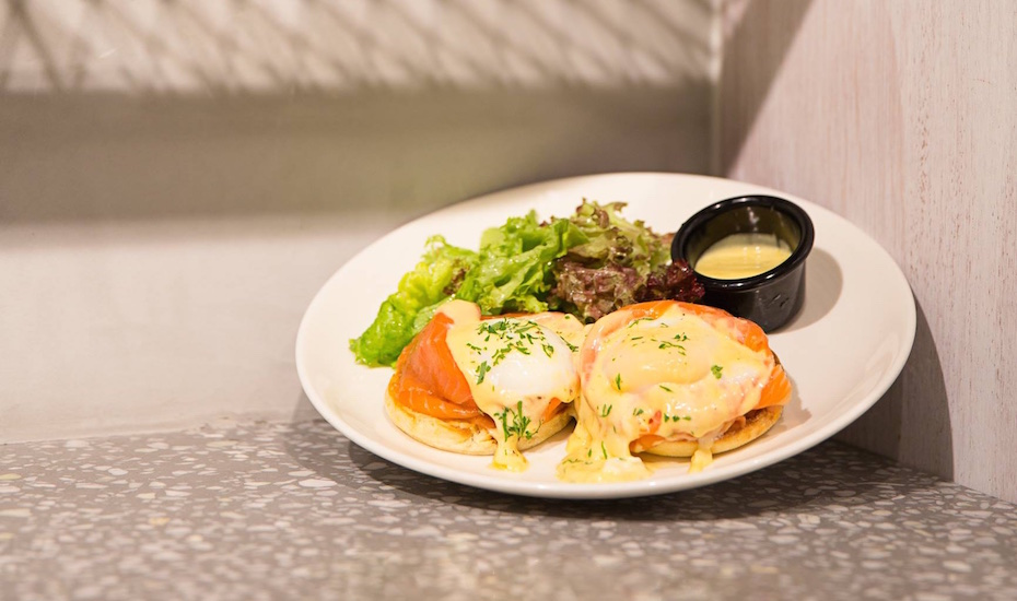 Eggs Royale at SPRMRKT (via Facebook) | Breakfast Singapore CBD