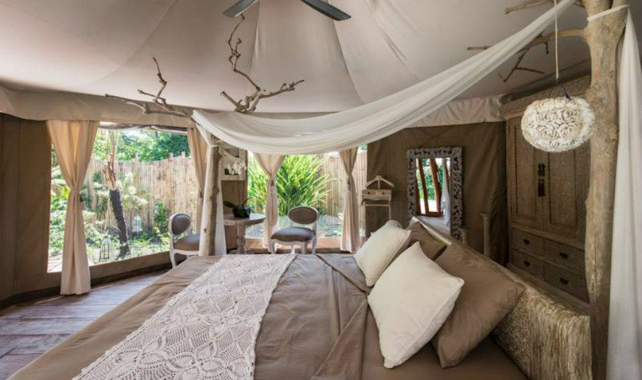 Glamping in Asia: Sandat Glamping Tents