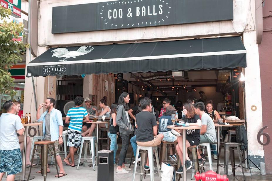 Tiong Bahru Singapore neighbourhood guide: Coq & Balls