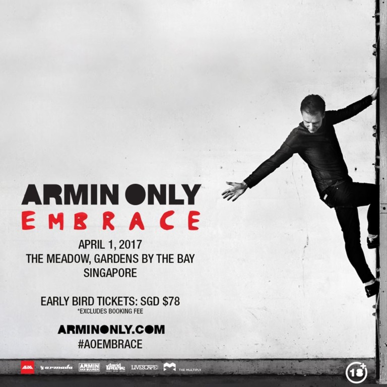 Armin Only Embrace World Tour 2017 – Singapore