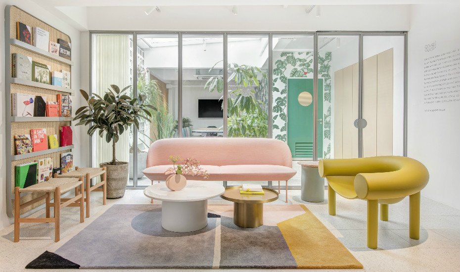 Cool Offices In Singapore Hip Working Spaces In The City