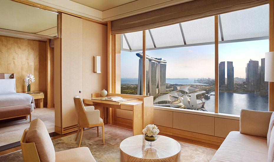 Hotels in Singapore: We review the suites at The Ritz-Carlton, Millenia Singapore – a staycation in the city