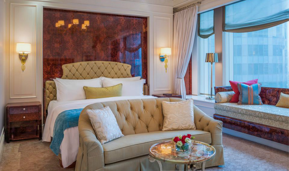 The St. Regis is as grand (and romantic) as it gets