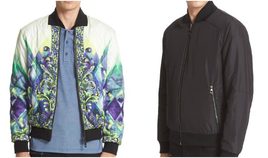 Versace Collection Reversible Print Bomber Jacket, Nordstrom (Credit: Nordstrom)