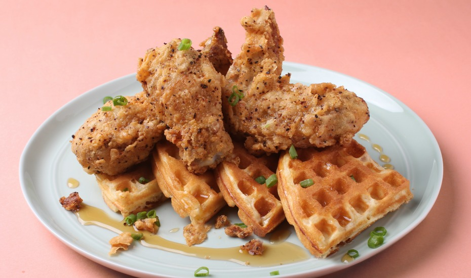 overeasy | Best chicken and waffles in Singapore