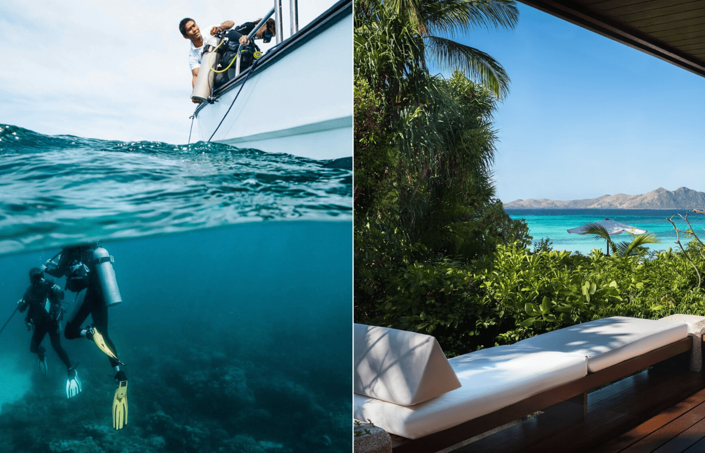 amanpulo island resort | private island resorts in Southeast Asia