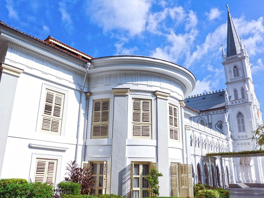 Wedding venues in Singapore: Walk down the aisle at the historic Caldwell House CHIJMES