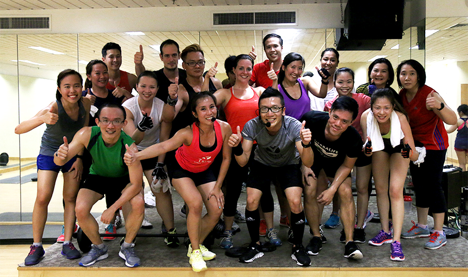 HIIT sessions in Singapore: Les Mills GRIT™ Strength fat-burning 30-minute HIIT workout at True Fitness