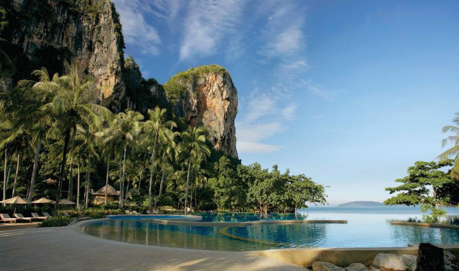 Luxury hotels in Southeast Asia: Rayavadee Krabi, Thailand