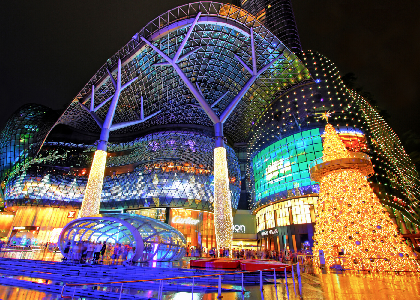 Get that glow: All the best spots to see Christmas lights in Singapore