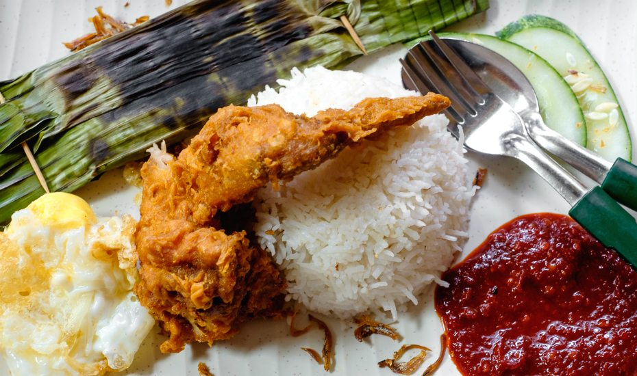 Nasi lemak: a national treasure (Credit Matthew Hine via Flickr)