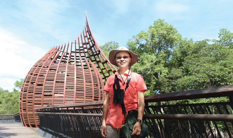 Hiking in Singapore: Quak Wan Ling on Sungei Buloh Wetland Reserve and other green spots in the city