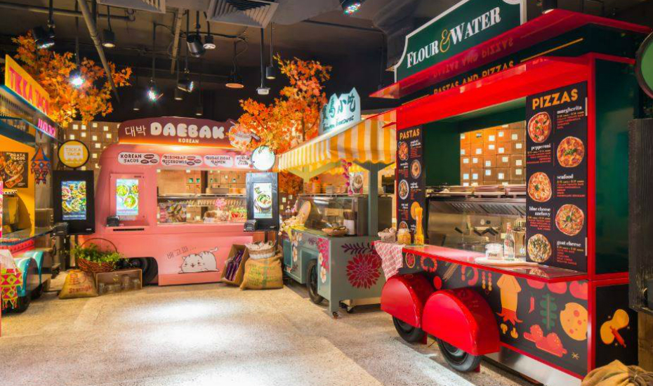 Food trucks in Singapore: Picnic is a themed restaurant in ...