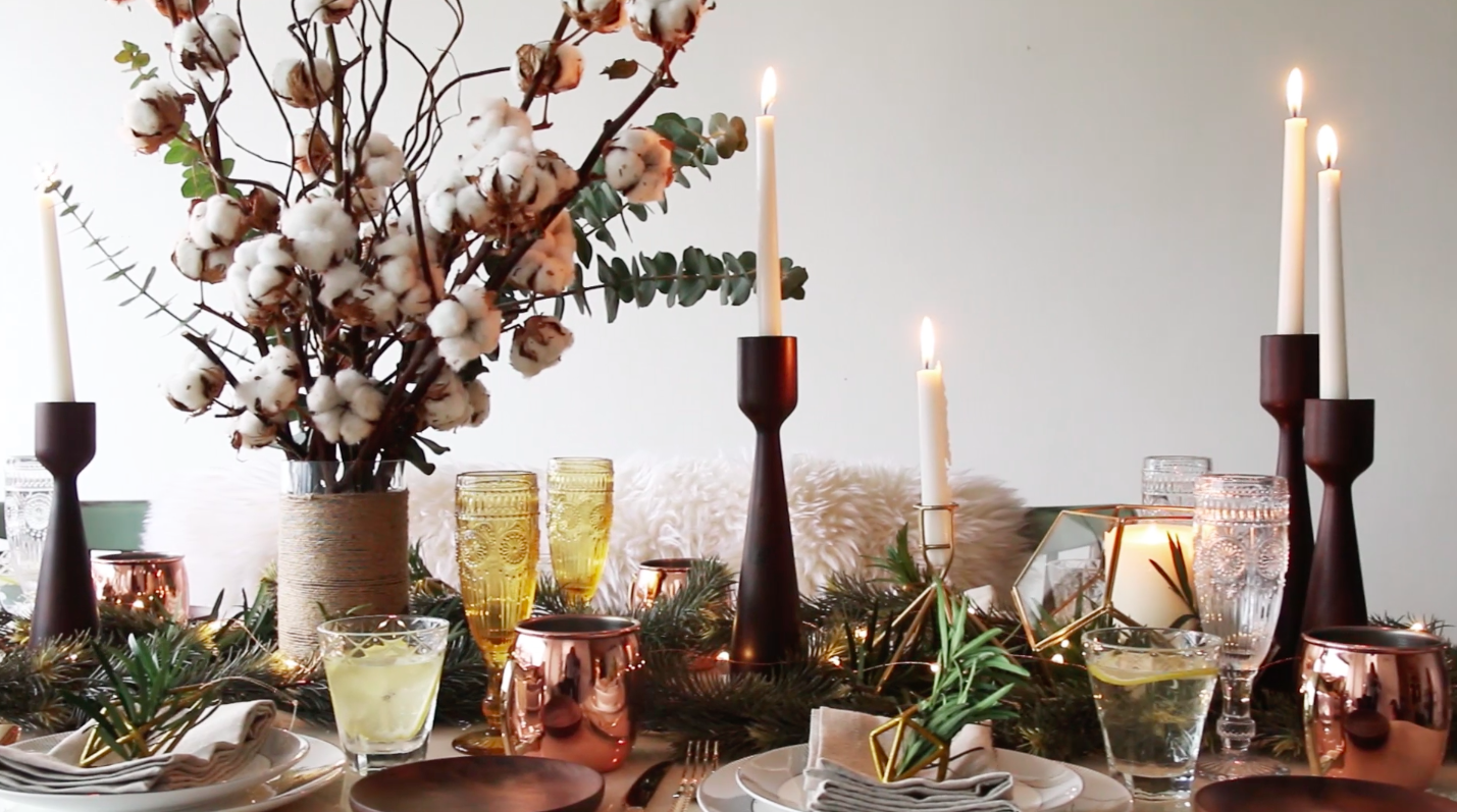 Table Decoration Ideas For Christmas In Singapore Create A Rustic
