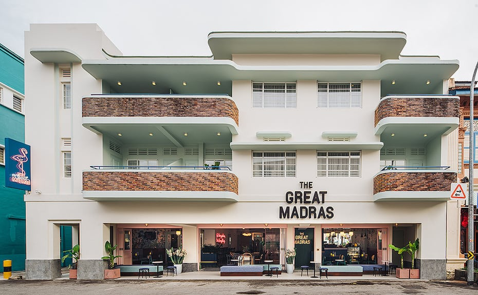 The Great Madras | Best boutique hotels in Singapore