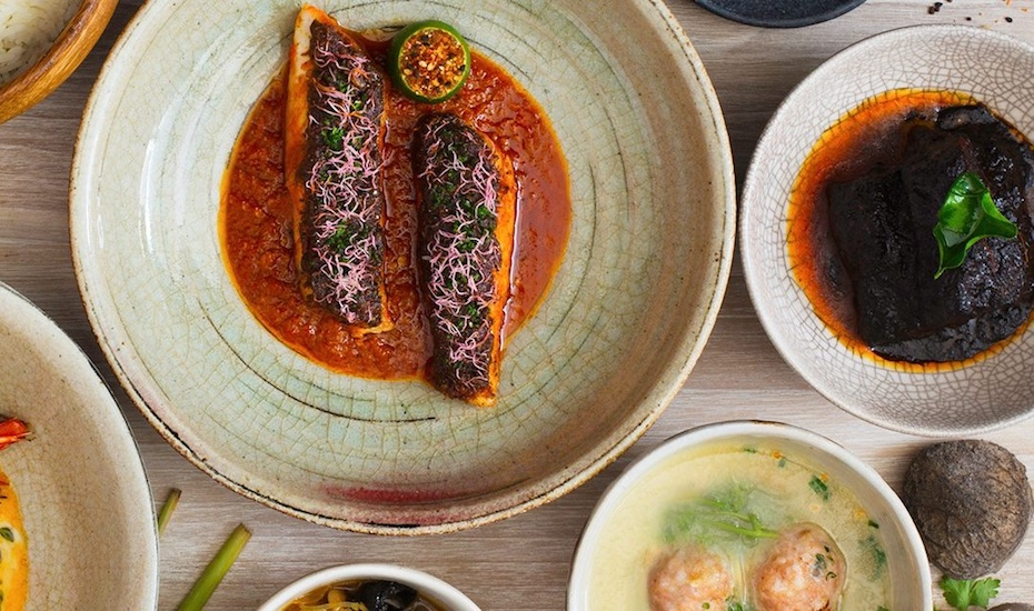 Traditional Peranakan dishes with a contemporary twist at Candlenut (via Facebook)